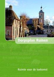Een leefbaar dorp Verkeer en veiligheid - Dorpsbelangen Rune