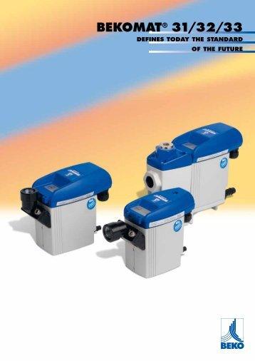 BEKOMAT® 31/32/33 - BEKO Technologies Gmbh