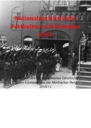 Nationalsozialistische Festkultur in Wiesbaden 1933