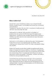 Medlemsbrev december 2012 - LSR