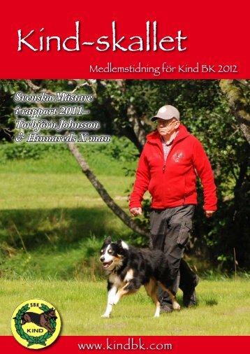 Kindskallet 2012 - Kind Brukshundklubb