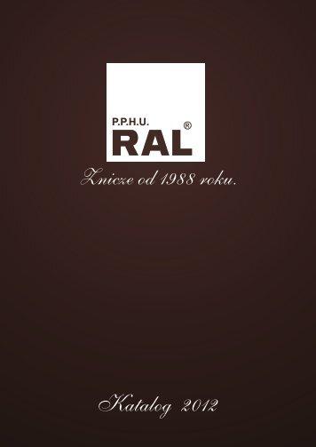 Katalog RAL 2012 krzywe - RAL - Producent zniczy.