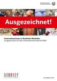 Ausgezeichnet! - Nordrhein-Westfalen direkt
