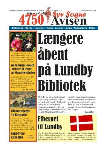 Fibernet til Lundby - Syvsogne.dk - Syv Sogne