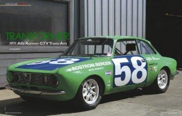 1971 Alfa Romeo GTV Trans-Am - Alfa Parts