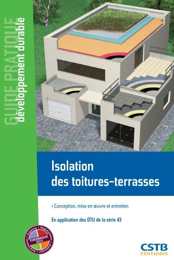 Isolation des toitures-terrasses - Boutique du CSTB
