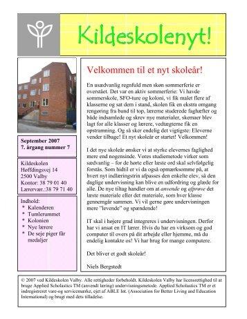 2007 - nummer 7 - Kildeskolen