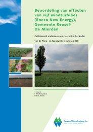 volledige flora - Windenergie Reusel de Mierden