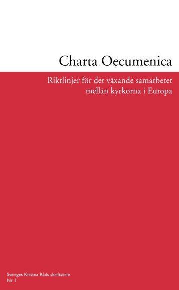 Charta Oecumenica - Sveriges kristna råd