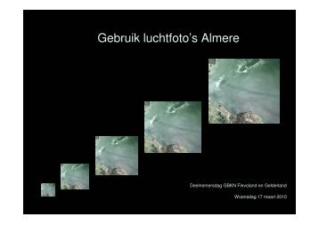 Gebruik luchtfoto's Almere - Gbkn