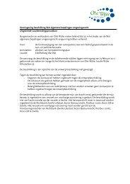 Kennisgeving beschikking Wet algemene bepalingen ...