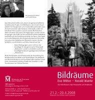 Ausstellungsflyer (PDF) - Harald Mante