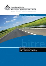 PDF: 3548 KB - Bureau of Infrastructure, Transport and Regional ...