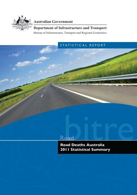 PDF: 3548 KB - Bureau of Infrastructure, Transport and Regional ...