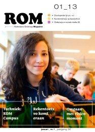 Rotterdams Onderwijs Magazine - Rotterdams Onderwijsbeleid