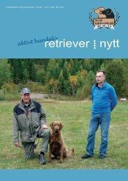 retriever nytt - Norsk Retrieverklubb