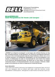 Beitrag als PDF lesen - Bell Equipment