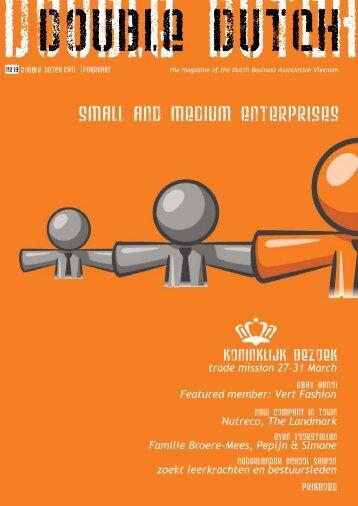 small and medium enterprises - Dutch Business Association vietnam