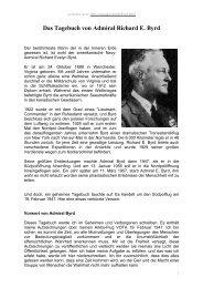Das Tagebuch von Admiral Richard E. Byrd - Teleboom.de