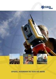 Klik her for at læse vores profil brochure - Geoteam A/S