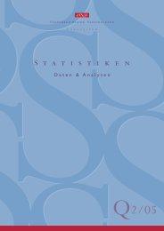 Statistiken – Daten und Analysen Q2-05