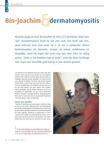 Bin-Joachim dermatomyositis - Huid Magazine