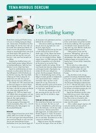 Dercum - en livslång kamp - Reumatikerförbundet