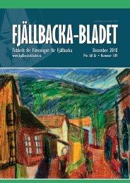 December 2010 Tidskrift för Föreningen för Fjällbacka