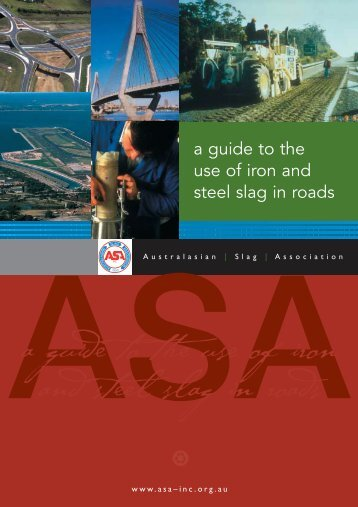ASA 36pp Guide - (iron & steel) Slag Association