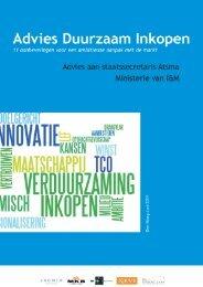 Advies Duurzaam Inkopen (juni 2011) - VNO-NCW