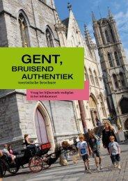 Toeristische brochure - Gent-Hotels