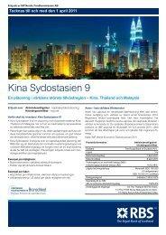 Kina Sydostasien 9 - RBS - Sweden
