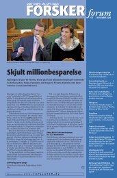 Flere penge til ph.d. - FORSKERforum