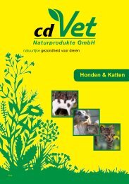 cdVet Hond & Kat 2011 - Perfect Natural Solutions