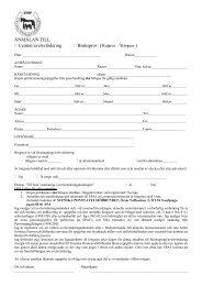 propositioner till föruttagning till avelsvärdering av russhingstar