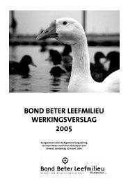 Werkingsverslag_BBL_2005 - Bond Beter Leefmilieu
