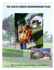 South Linden Neighborhood Plan - the Department of Development ...