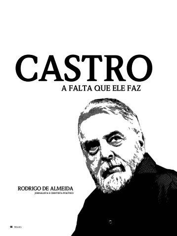 Castro a falta que ele faz - Insightinteligencia.com.br