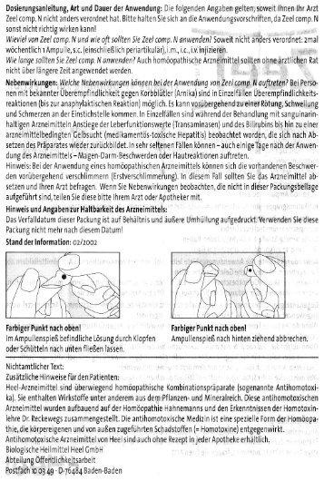 ZEEL gegen Gelenkbeschwerden - Praxis Maher