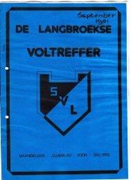 De Langbroekse Voltreffer, editie september 1981 - SVL