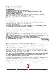 Ga naar de meest gestelde vragen - GoFunSailing