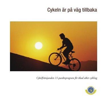 Cykelfrämjandets 11-punktsprogram