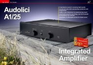 Audolici A1/25 Integrated Amplifier