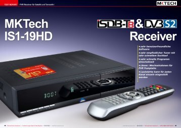 MKTech IS1-19HD & Receiver