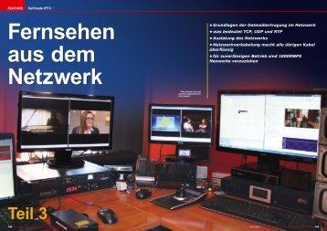 Fernsehen aus dem Netzwerk