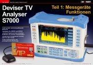 Deviser TV Analyser S7000
