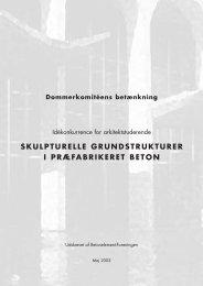 skulpturelle grundstrukturer i præfabrikeret beton - Betonelement ...