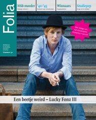 Een beetje weird – Lucky Fonz III - Folia Web