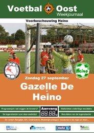 Gazelle De Heino - VV Heino