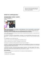 Artikel fra Landbrugsavisen Arbejdsmiljøet sættes i system